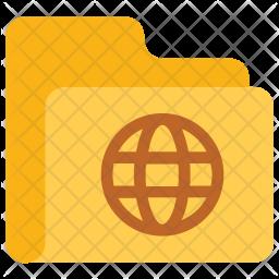 Global folder Icon