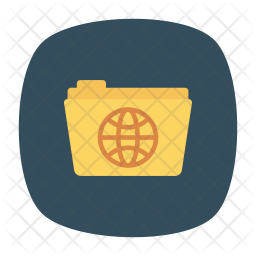 Global folder Icon png