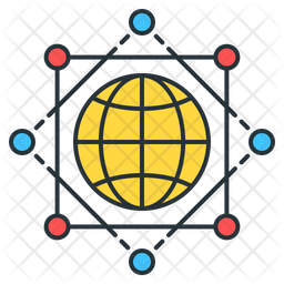 Global infrastructure Icon