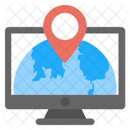 Global Locating Icon