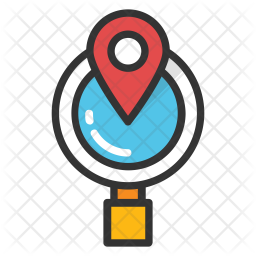 Global Location Search Icon