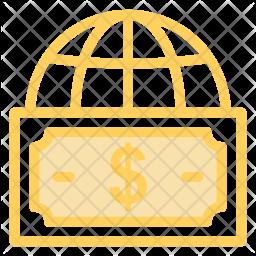 Global money exchange Icon