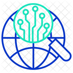 Global Search For Ai Icon