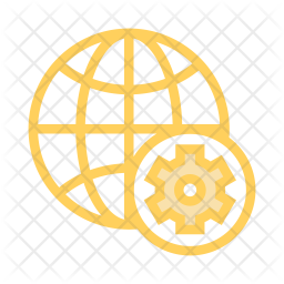 Global setting Colored Outline Icon