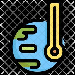 Global Temperature Icon