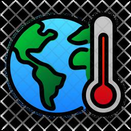 Global warming Icon
