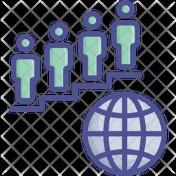 Globally Progress Icon