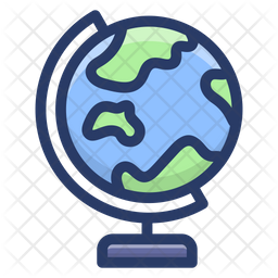 Globe Icon Of Colored Outline Style Available In Svg Png Eps Ai Icon Fonts