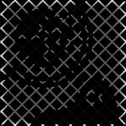 Globe Glyph Icon