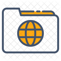 Globe Folder Icon