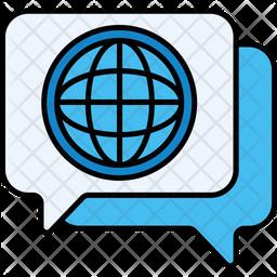 Globla Message Icon