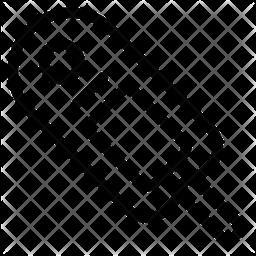 Glucometer Line Icon