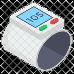 Glucometer Isometric Icon