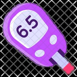 Glucometer Flat Icon