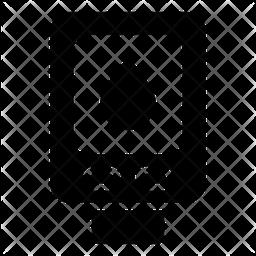 Glucometer Glyph Icon