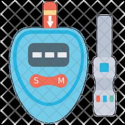Glucose Meter Icon