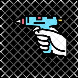 Gluing Gun Icon