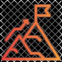Goal Gradient Icon