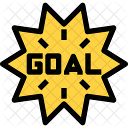 Goal Icon Of Colored Outline Style Available In Svg Png Eps Ai Icon Fonts