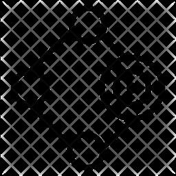Goal Line Icon