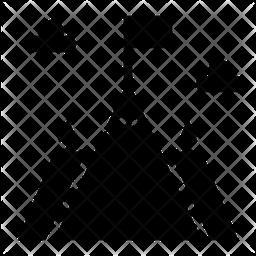 Goal Glyph Icon