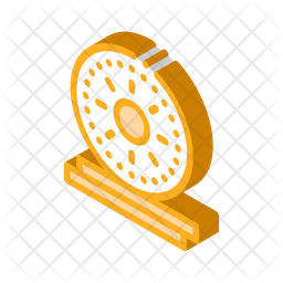 Gold Coin Icon Of Isometric Style Available In Svg Png Eps Ai Icon Fonts