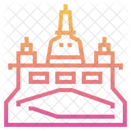 Golden Mount Icon