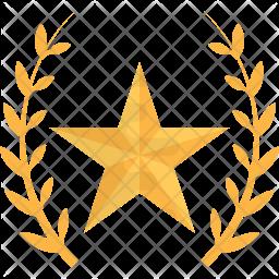 Golden Star Icon