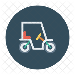 Golf Bike Icon