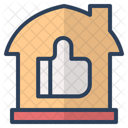 Good Review Colored Outline Icon