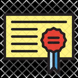 Government Certificate Icon