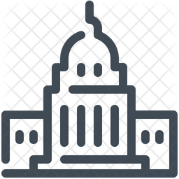 Governmental building Icon
