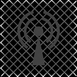 Gprs Glyph Icon