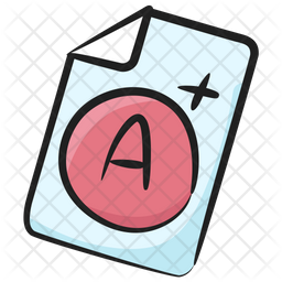 Grade Sheet Icon