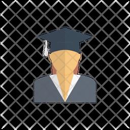 Graduate Student Icon