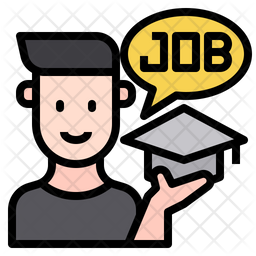 Graduated Job Icon
