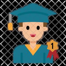 Graduated Student Icon