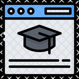 Graduation Website Icon