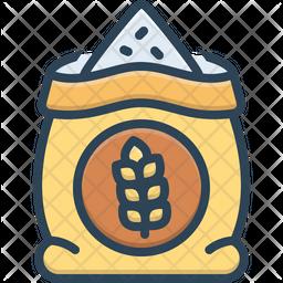 Grain Colored Outline Icon