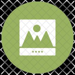 Graph Glyph Icon