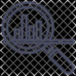 Graph Analysis Icon