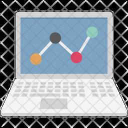 Graph Screen Color Icon Icon