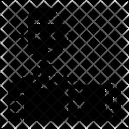 Graphic Designer Glyph Icon
