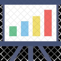 Graphic Presentation Flat Icon
