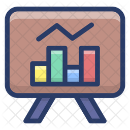 Graphical Business Presentation Icon