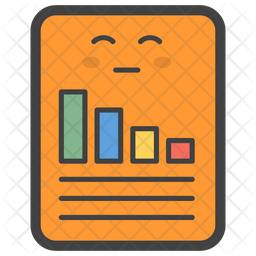 Graphical Paper Emoji Icon
