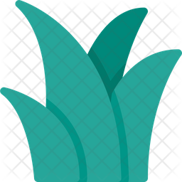 Grass Flat Icon