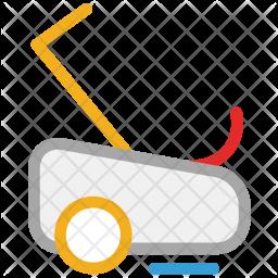 Grass mower Icon