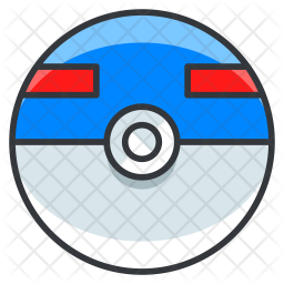 Greatball Colored Outline Icon