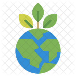 Green Earth Icon Of Flat Style Available In Svg Png Eps Ai Icon Fonts